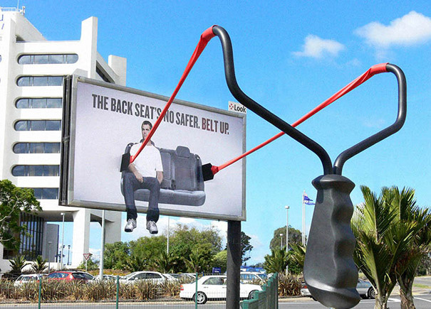 Backseat Ejector Billboard