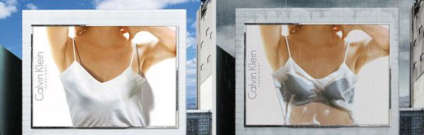 Calvein Klein Billboard Ad