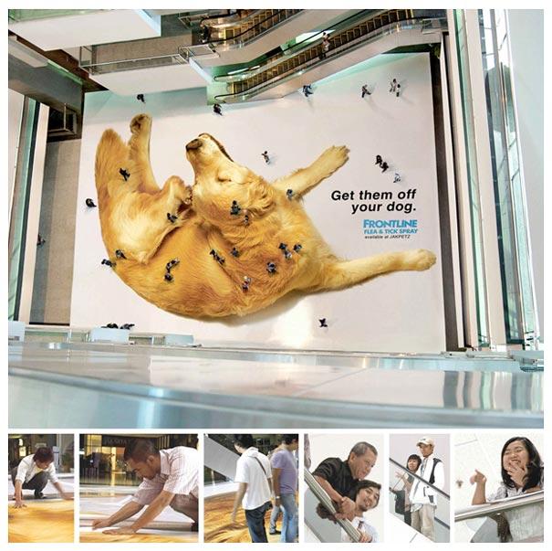 Frontline Floor Tick Billboard Ad