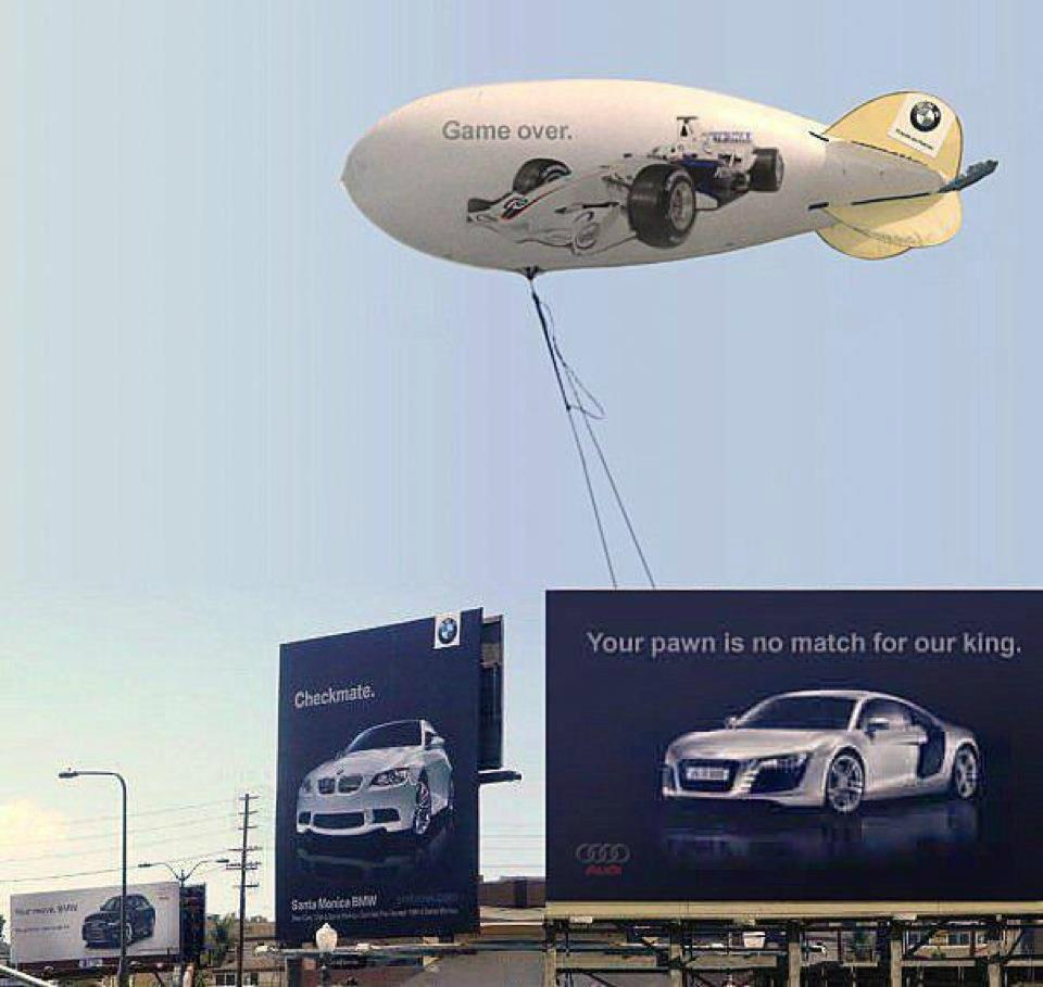 BMW AUDI Billboards