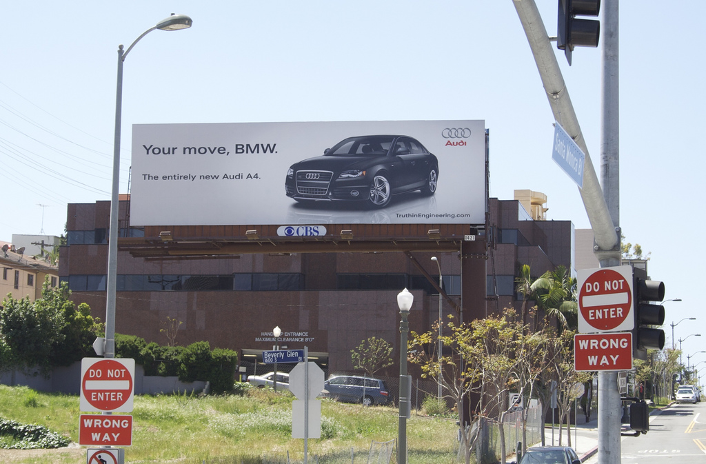 Your Move Audi Billboard