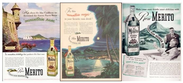 Vintage Rum Ads Merito