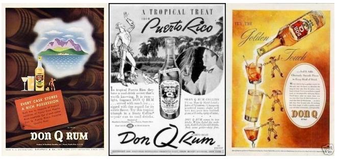 Don Q Vintage Rum Ads