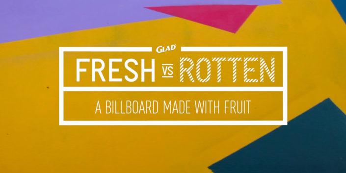 Glad Advertisement Fresh Billboard