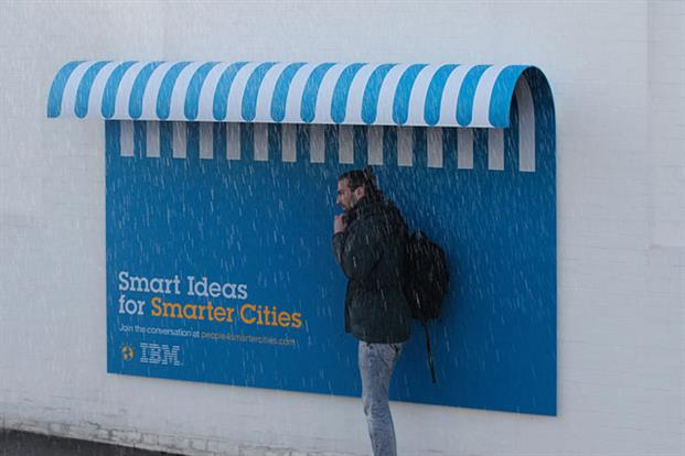 IBM Start Cities Rain Cover