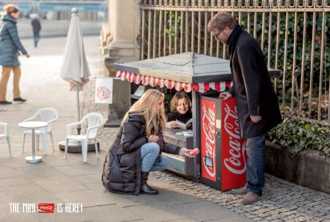 Mini Kiosk Coca Cola Campaign