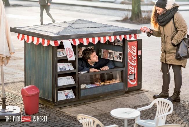 Coca Cola Mini Kiosk