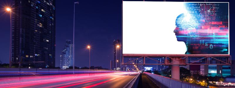 smart technology billboards