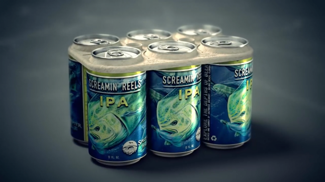 Saltwater Brewing Edible Six Pack Rings