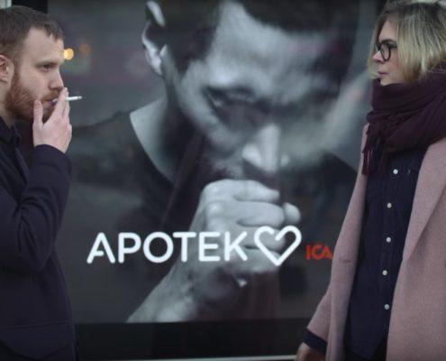 Anti Smoking Apotek Billboard