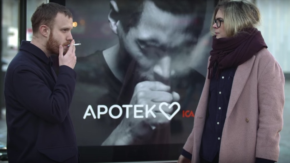 Anti Smoking Apotek Billboard