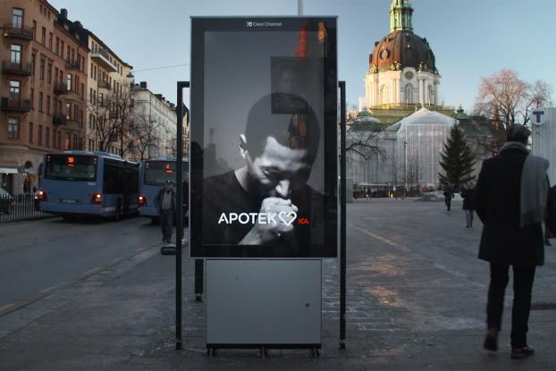 Coughing Billboard