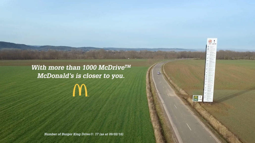Creative McDonalds Billboard