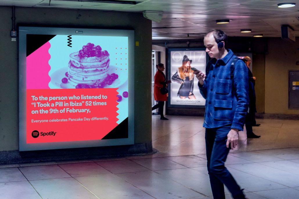 Spotify Hilarious Billboard