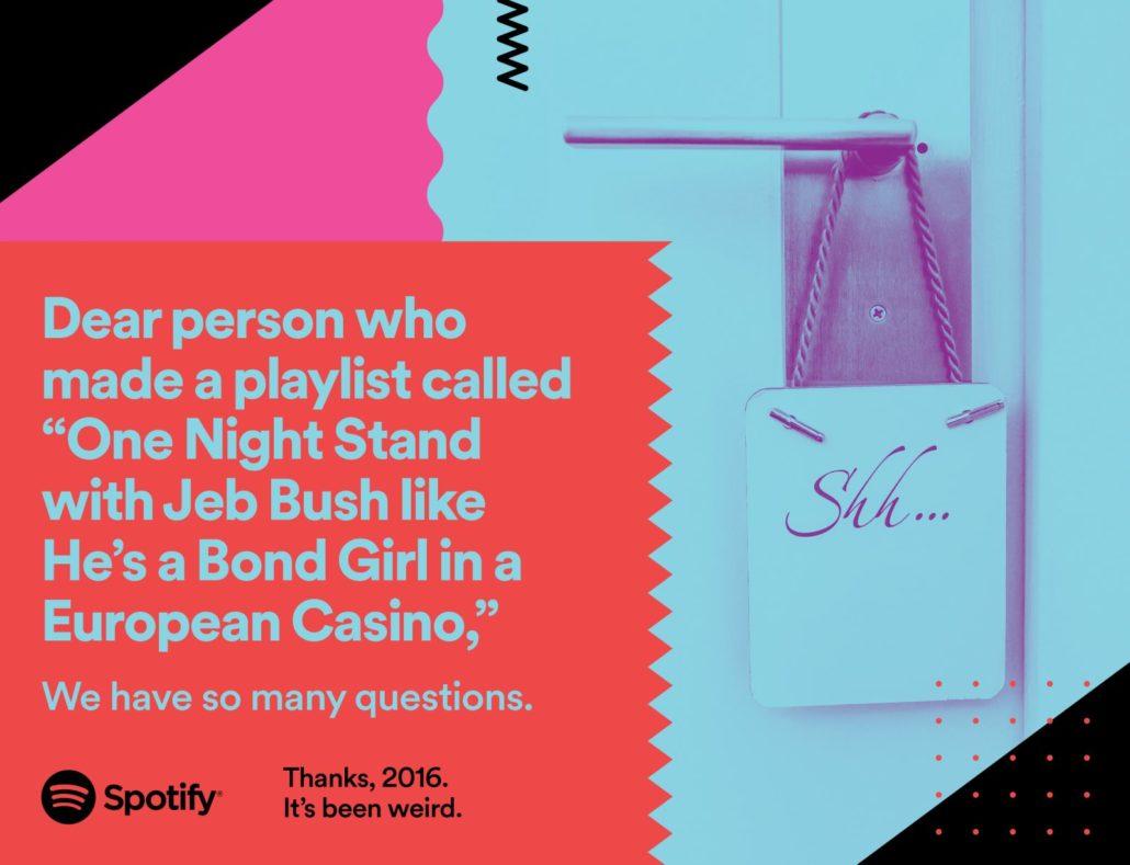 Funny Spotify Billboard Advertisement