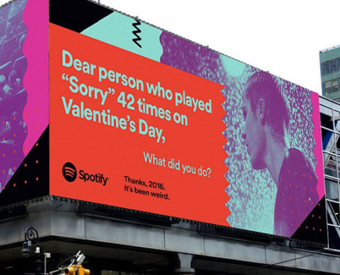 Spotify Billboard Campaign