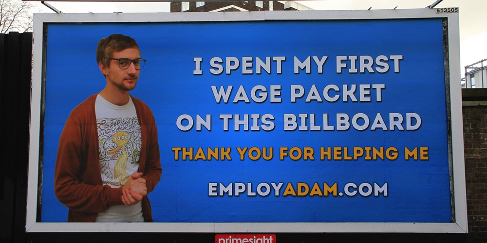 Employ Adam Billboard 2