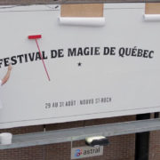 Quebec Magic City Festival Billboard