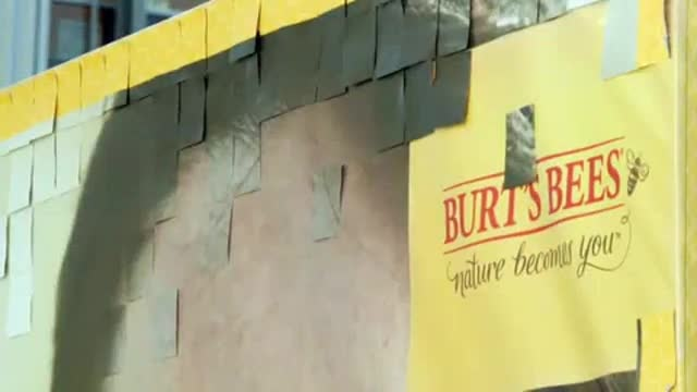 Burts Bees Coupon Billboard