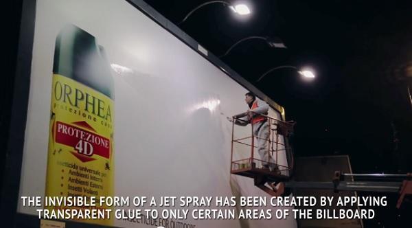 Orphea Insecticide Billboard