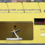Nike Unicef Treadmill Billboard