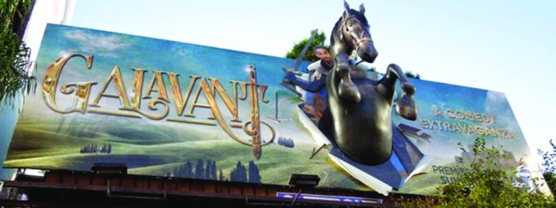 Galavant 3D Billboard