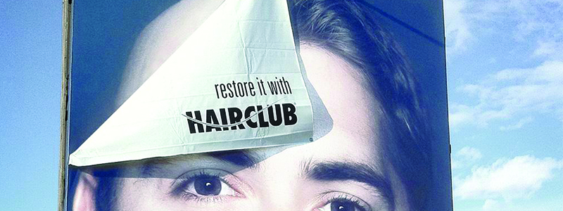Hair Club 3D Billboard