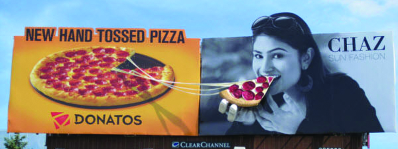 Donatos 3D Billboard
