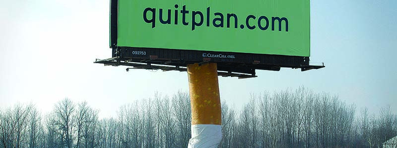 Quit Plan 3D Billboard