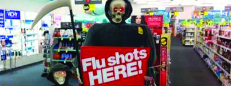 Flu Shots Billboard