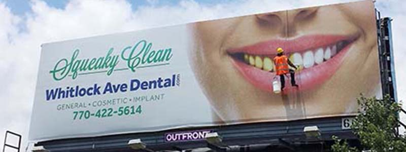 Whitlock Dental Billboard