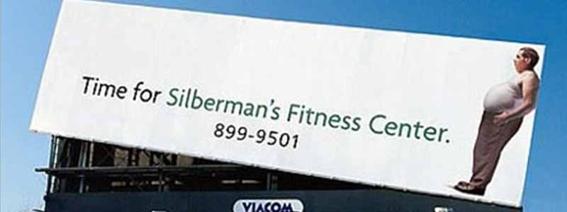 Silberman's Fitness Billboard