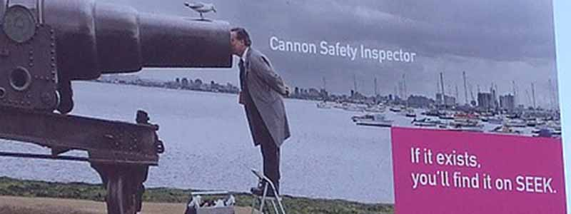 Cannon Safety Inspector Billboard