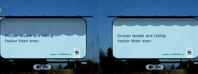 Denmark Ocean Levels Billboard