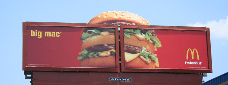 Big MAC Creative Billboard