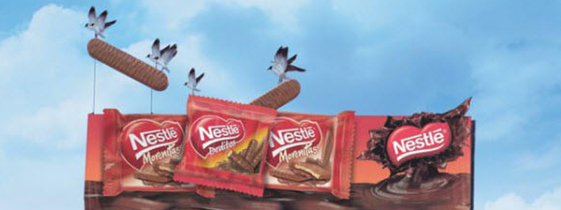 Nestle Bars Billboard