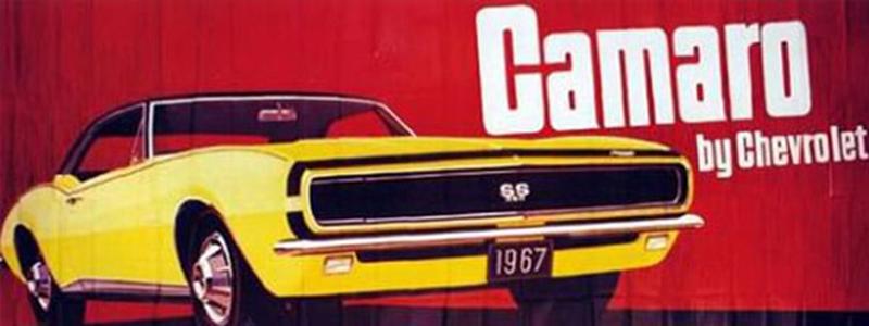 Camaro Vintage Billboard