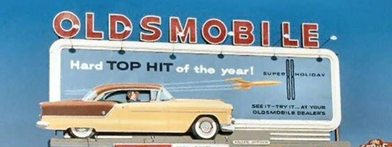 Oldsmobile Vintage Billboard