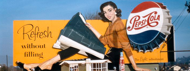 Pepsi Vintage Billboard