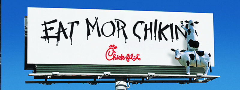 Chick Fil A Billboard