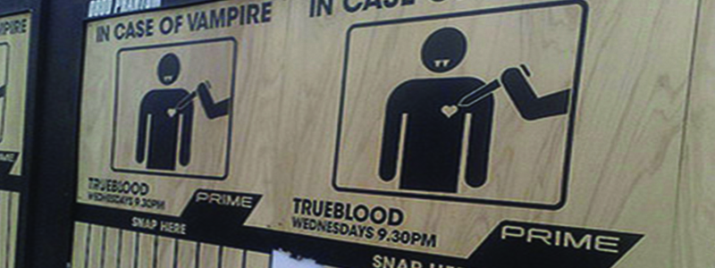 Trueblood Crazy Marketing Idea