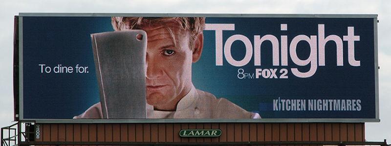 Fox Time Sensitive Billboard