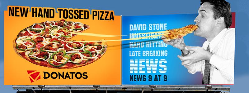 Donatos Pizza Billboard