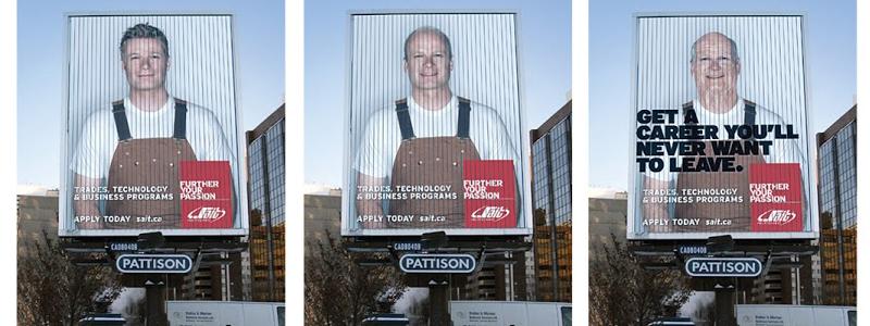 Electronic Billboard Ad