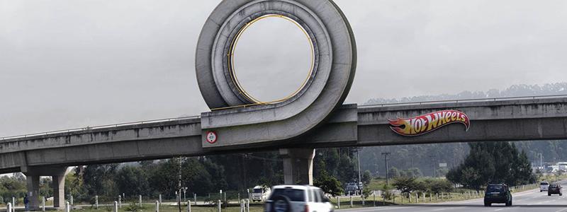 Hotwheels Billboard