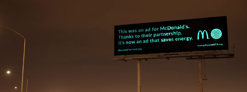 Earth Day Billboard