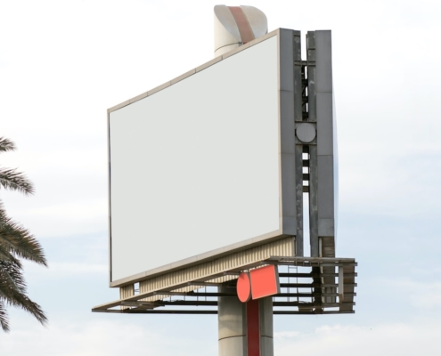 blank billboard san juan