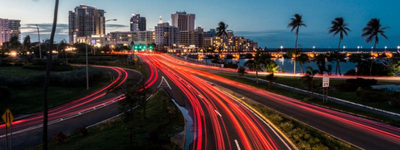 heavy traffic in puerto rico