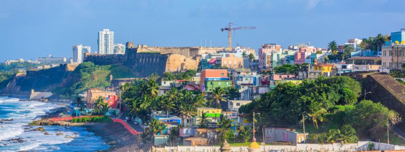 puerto rico birds eye view